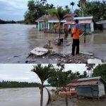 Satu Rumah Warga Gampong Keude Padang Terbawa Arus Sungai Kluet
