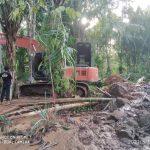Akibat Banjir, Irigasi Sawah di kecamatan Pasie Raja Tersumbat