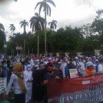 Umat Islam Bangka Belitung Gelar Aksi Solidaritas Bela Palestina di Pusat Kota Pangkalpinang