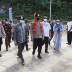 Bupati Aceh Selatan Sambut Kapolda Aceh