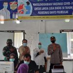 Puskesmas Ranto Peureulak Sukses Lakukan Vaksinasi Pertama