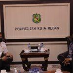 Bertemu Walikota Medan, Rocky Papar Potensi Daerah