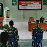 Tingkatkan Kualitas dan Kemampuan Binter, Danramil dan Babinsa Kodim Aceh Selatan Ikuti Bin Siap Apwil dan Puanter