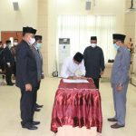 Tgk Amran Lantik 14 Pejabat Struktural