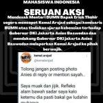 Mendesak Menteri BUMN Bapak Erick Thohir Ssgera mencopot Kemal Arsjad sebagai Komisaris BUMN