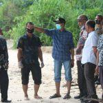 Kunjungi Lokasi Abrasi di Gampong Sawang Indah, Tgk. Amran Upayakan Solusi Terbaik