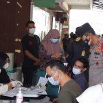Antusias Masyarakat Ikut Vaksin Di Puskesmas Banda Raya, Di Apresiasi Kapolda Aceh