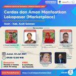 Narasumber Webinar Literasi Digital, Direktur Poltas Ajak Technopreneur Manfaatkan Marketplace