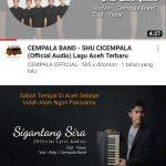 Dukung API Award, Cempala Band Dedikasikan Dua Lagu Untuk Aceh Selatan
