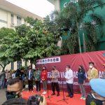 Ribuan Mahasiswa Ikuti Vaksinasi Di Universitas Bhayangkara Bekasi
