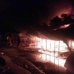 Breaking News, Empat Unit Toko Jual Mainan di Kotafajar Ludes Terbakar