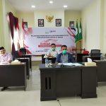 Pemkab Aceh Timur Rakor Virtual Pembentukan TP2DD Provinsi Aceh Dengan BI