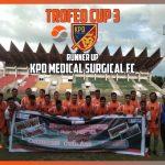 Trofeo Cup Antara KPD FC, RSU Meuraxa Banda Aceh FC & PUMA FC Menjadi Gelaran Perdana Cup Tahun 2021 Bagi Tenaga Kesehatan