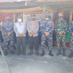 Danlanal Simeulue Laksanakan Vaksinasi Maritim di Desa Lugu