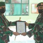 Kodim 0107/Aceh Selatan Gelar Upacara Kenaikan Pangkat dan Pindah Satuan