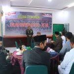 Secara Virtual, Dandim Bersama Forkopinda Aceh Selatan Ikuti Peringatan HUT ke-76 TNI di Makodim Asel