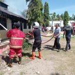 5 Ruangan SMPN 1 Labuhanhaji Terbakar Saat Shalat Ju'mat