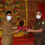 Jaga Sinergitas, Tgk. Amran Terima Kunjungan Kerja Kajati Aceh