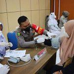 Vaksinasi Merdeka Go To Universitas Digelar Bidhumas Polda Aceh, Ratusan Mahasiswa UBBG Divaksin dan Dapat Voucer