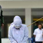 Usai Dicambuk 100 Kali, Terpidana Kasus Zina di Aceh Barat Daya Pingsan
